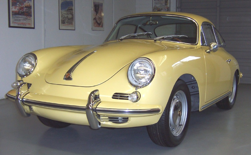 1965 Porsche 356 SC This Is Outstanding In Every Way Champagne Yellow With Green Interior The Car Has Just 900 Miles On A Herman Walker Restoration