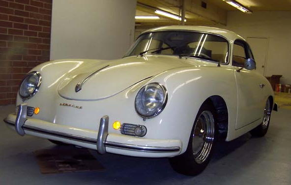 Porsche 356 For Sale >> Ivory 1959 Porsche 356A Coupe